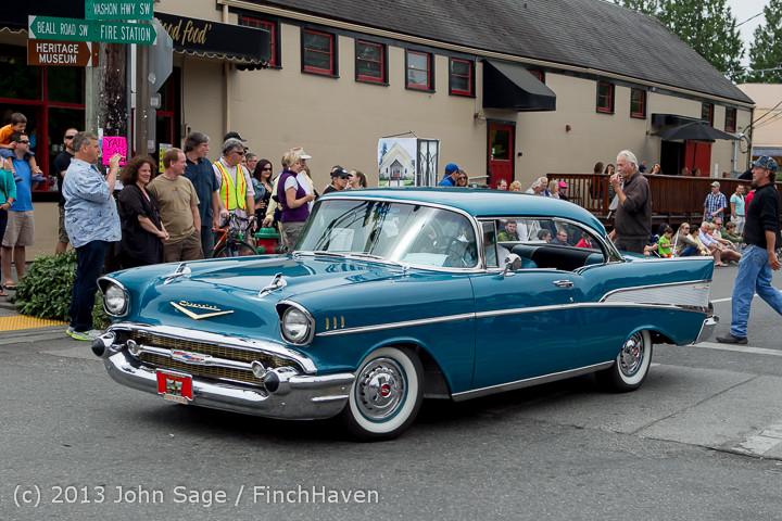 19545 Tom Stewart Car Parade and Show 2013 072113