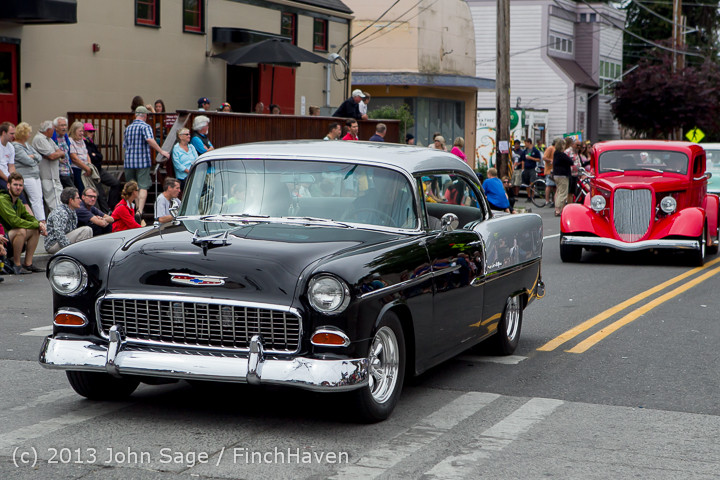 19551 Tom Stewart Car Parade and Show 2013 072113