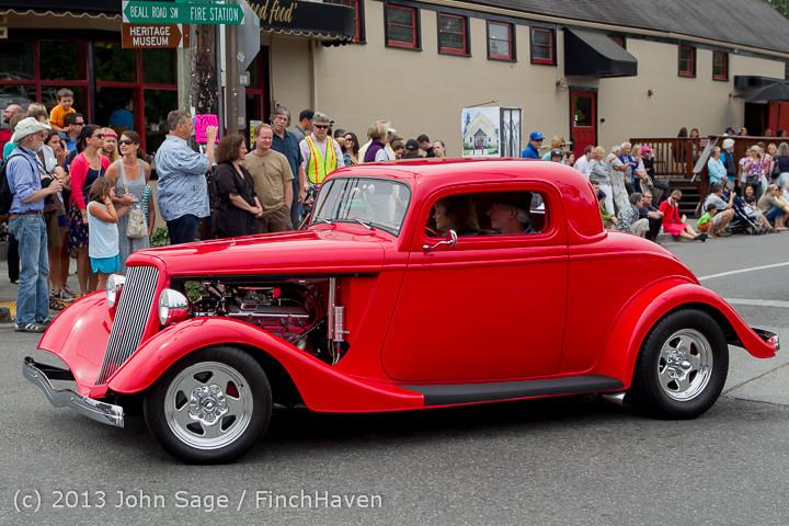 19557 Tom Stewart Car Parade and Show 2013 072113