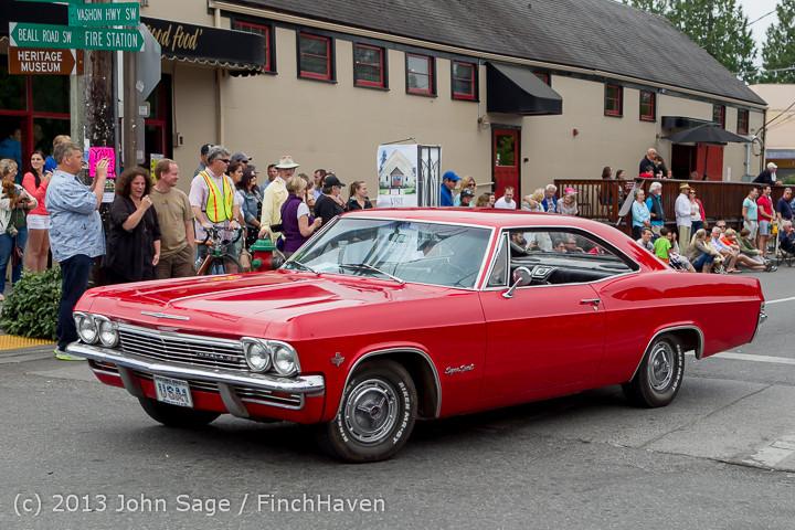 19578 Tom Stewart Car Parade and Show 2013 072113