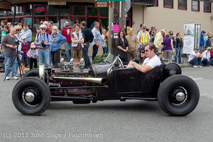 19583 Tom Stewart Car Parade and Show 2013 072113