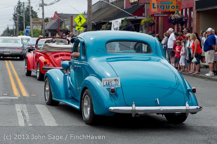 19595 Tom Stewart Car Parade and Show 2013 072113