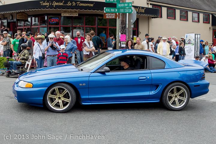 19601 Tom Stewart Car Parade and Show 2013 072113