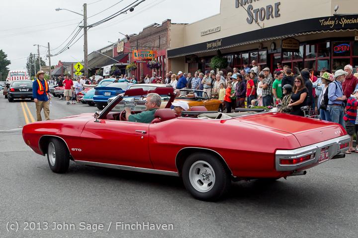 19635 Tom Stewart Car Parade and Show 2013 072113