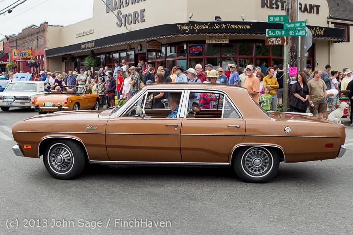 19645 Tom Stewart Car Parade and Show 2013 072113