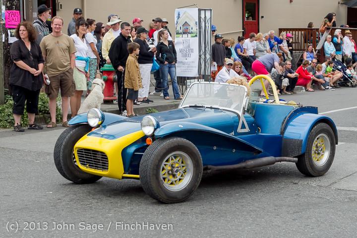 19646 Tom Stewart Car Parade and Show 2013 072113