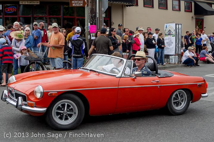19677 Tom Stewart Car Parade and Show 2013 072113