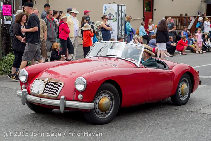 19726 Tom Stewart Car Parade and Show 2013 072113