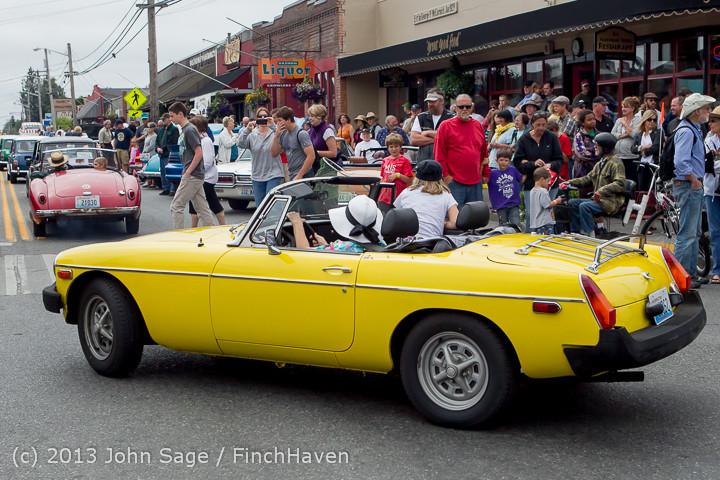 19734 Tom Stewart Car Parade and Show 2013 072113