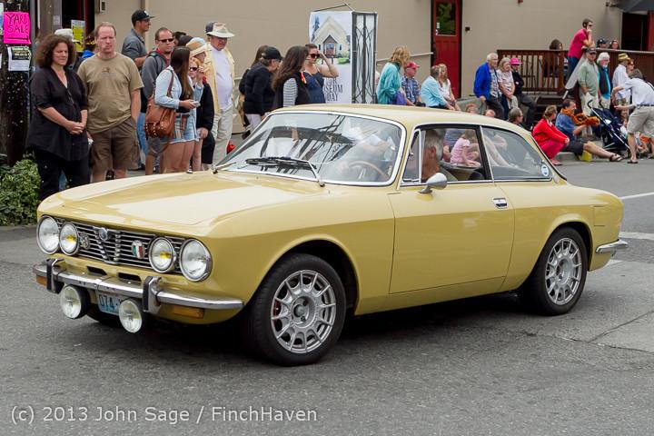19735 Tom Stewart Car Parade and Show 2013 072113