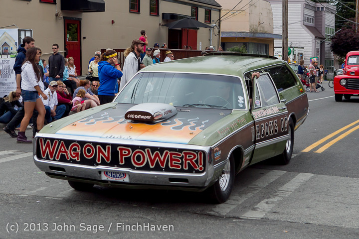 19743 Tom Stewart Car Parade and Show 2013 072113