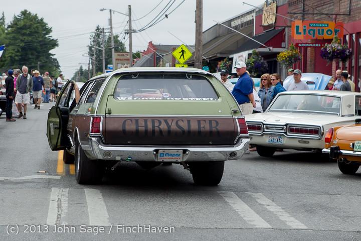 19764 Tom Stewart Car Parade and Show 2013 072113