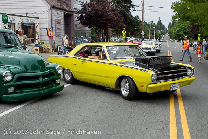 19776 Tom Stewart Car Parade and Show 2013 072113