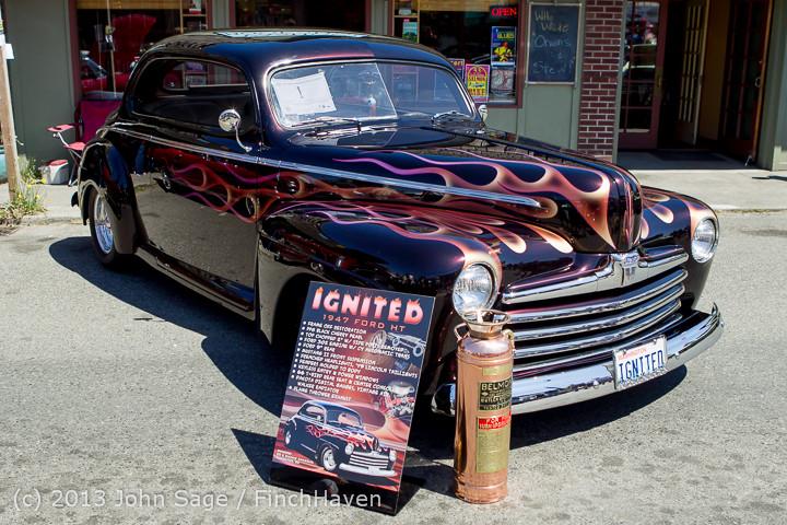 20788 Tom Stewart Car Parade and Show 2013 072113