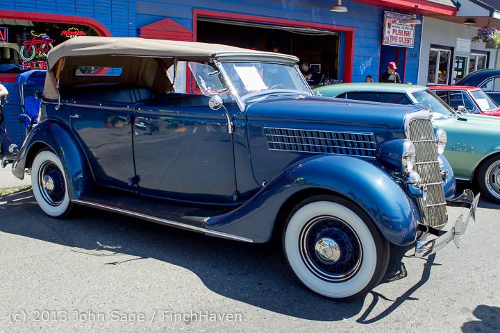 20822 Tom Stewart Car Parade and Show 2013 072113