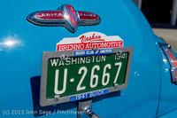 20876 Tom Stewart Car Parade and Show 2013 072113