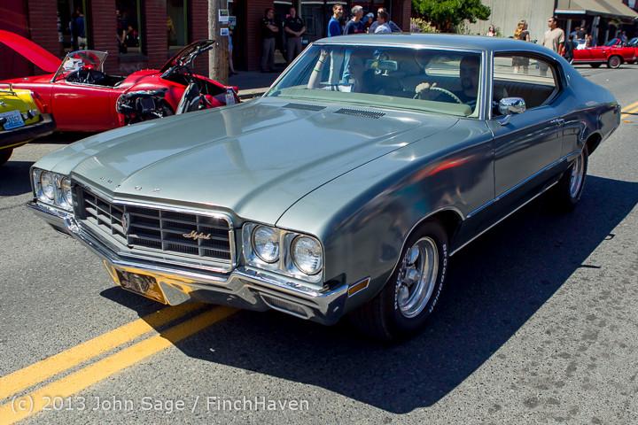 20886 Tom Stewart Car Parade and Show 2013 072113