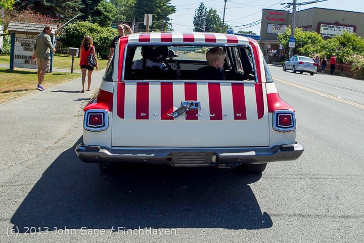 20940 Tom Stewart Car Parade and Show 2013 072113
