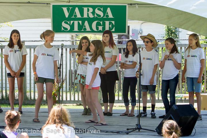7542 VARSA Youth Stage Village Green Saturday 2013 072013