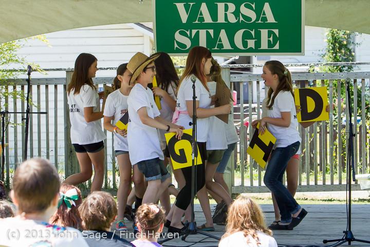 7556 VARSA Youth Stage Village Green Saturday 2013 072013