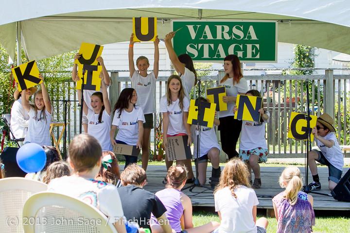 7567 VARSA Youth Stage Village Green Saturday 2013 072013