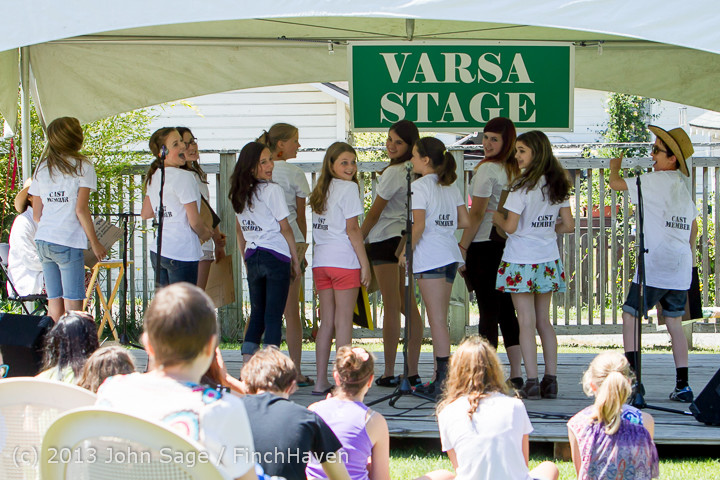 7570 VARSA Youth Stage Village Green Saturday 2013 072013