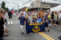 19865 Vashon Strawberry Festival Grand Parade 2014 071914