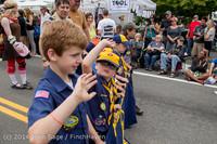 19873 Vashon Strawberry Festival Grand Parade 2014 071914
