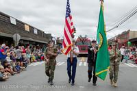 19933 Vashon Strawberry Festival Grand Parade 2014 071914