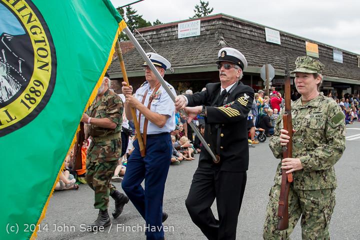 19937 Vashon Strawberry Festival Grand Parade 2014 071914