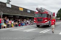 19939 Vashon Strawberry Festival Grand Parade 2014 071914