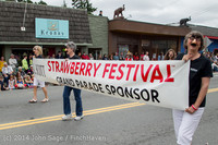 19973 Vashon Strawberry Festival Grand Parade 2014 071914