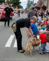 20007 Vashon Strawberry Festival Grand Parade 2014 071914