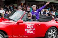 20071 Vashon Strawberry Festival Grand Parade 2014 071914