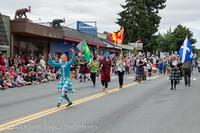20074 Vashon Strawberry Festival Grand Parade 2014 071914