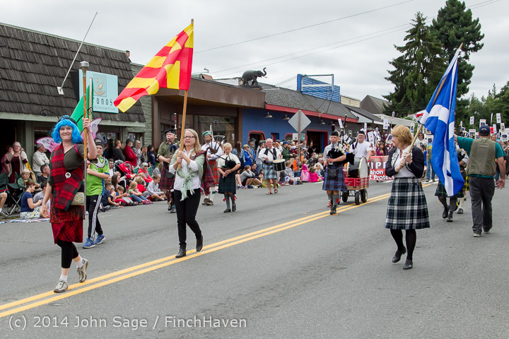20082 Vashon Strawberry Festival Grand Parade 2014 071914