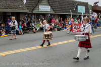 20098 Vashon Strawberry Festival Grand Parade 2014 071914