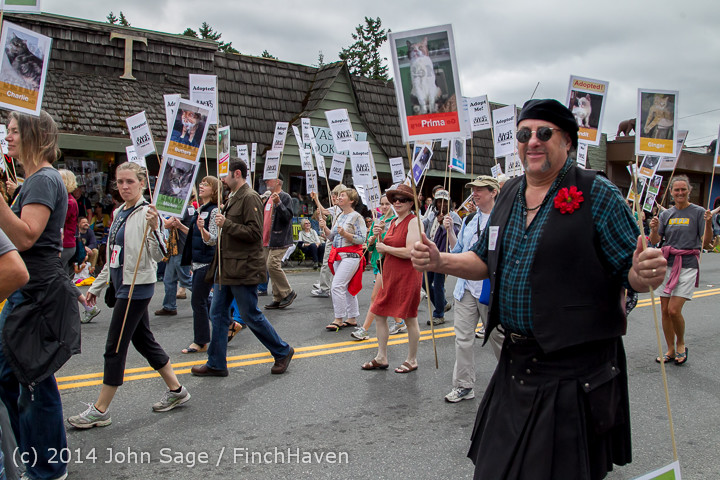 20110 Vashon Strawberry Festival Grand Parade 2014 071914