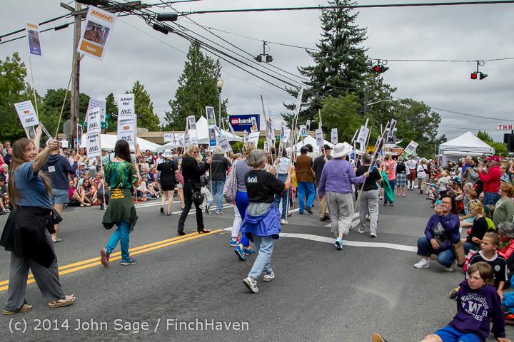 20120 Vashon Strawberry Festival Grand Parade 2014 071914