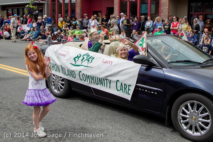 20125 Vashon Strawberry Festival Grand Parade 2014 071914