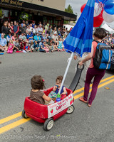 20146 Vashon Strawberry Festival Grand Parade 2014 071914
