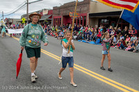 20155 Vashon Strawberry Festival Grand Parade 2014 071914