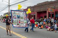20196 Vashon Strawberry Festival Grand Parade 2014 071914