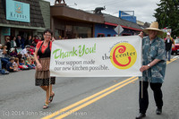 20215 Vashon Strawberry Festival Grand Parade 2014 071914