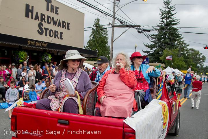 20243 Vashon Strawberry Festival Grand Parade 2014 071914
