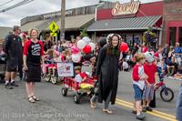 20269 Vashon Strawberry Festival Grand Parade 2014 071914