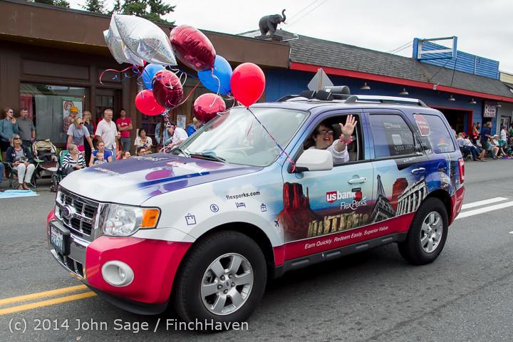 20340 Vashon Strawberry Festival Grand Parade 2014 071914