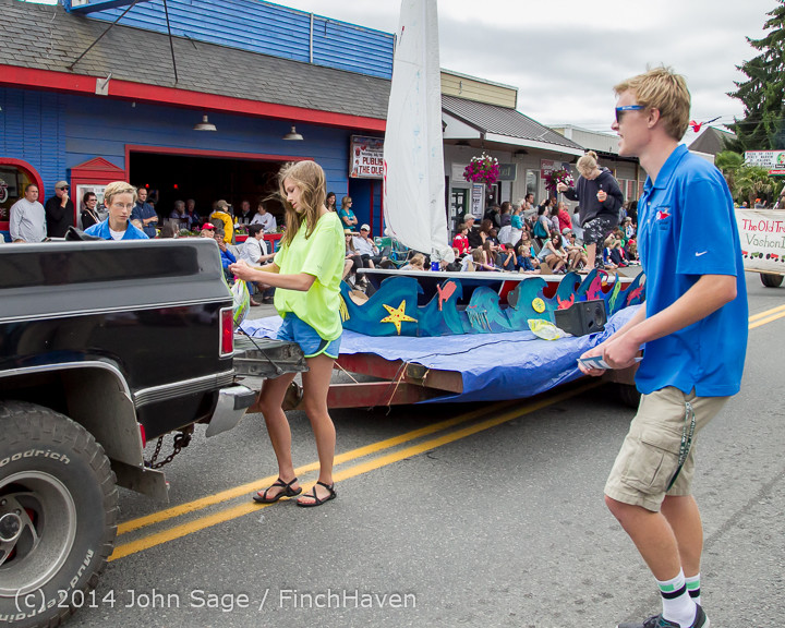 20431 Vashon Strawberry Festival Grand Parade 2014 071914