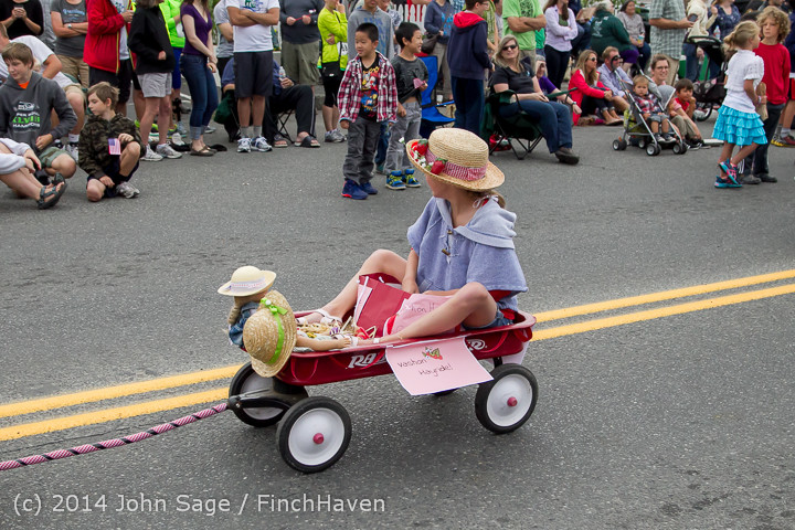 20488 Vashon Strawberry Festival Grand Parade 2014 071914