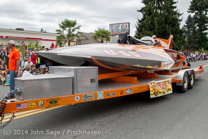 20506 Vashon Strawberry Festival Grand Parade 2014 071914